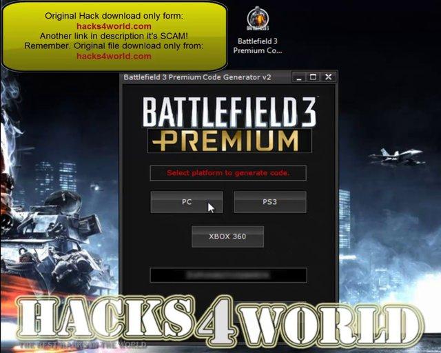 Генератор премиум ключей Battlefield 3! . БЕСПЛАТНО.
