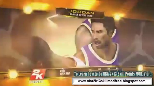 How To Mod NBA 2k13-2014 (My Player Unlimited Skill Points) Tutorial
