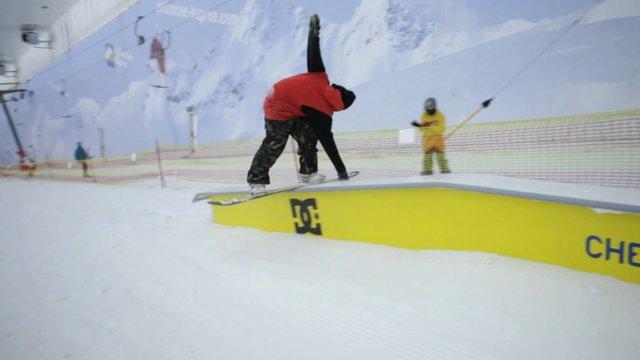 DC SnowboardingFFF