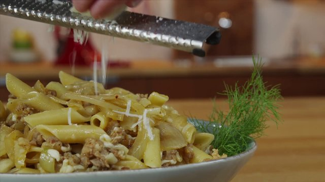 Penne with Fennel and Sausage Recipe on Vimeo
