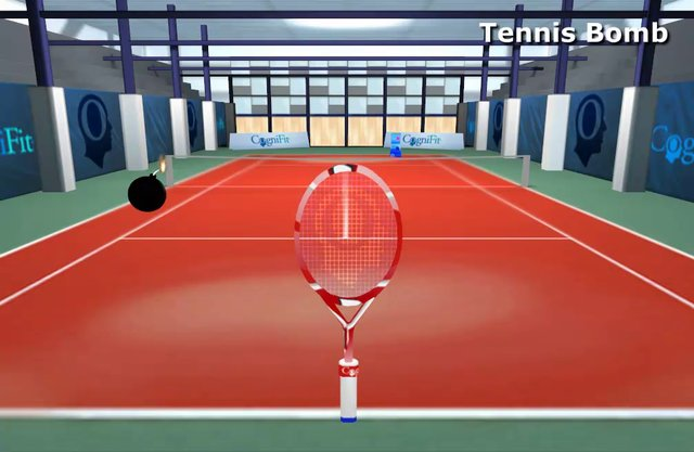 CogniFit Tennis Bomb - English Tutorial
