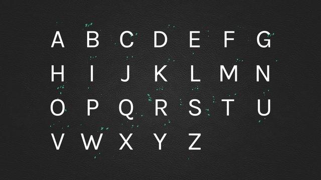 Motion Alphabet