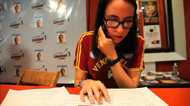 Young Activist's Fight for Venezuelan Voters
