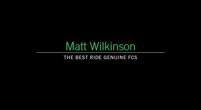 Matt Wilkinson For FCS