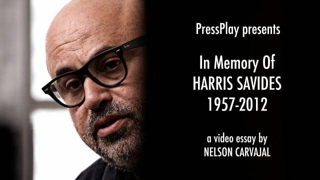 Press Play VIDEO ESSAY: In Memory of Harris Savides (1957-2012)