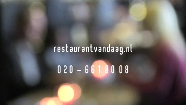 Restaurant Vandaag Amsterdam 2