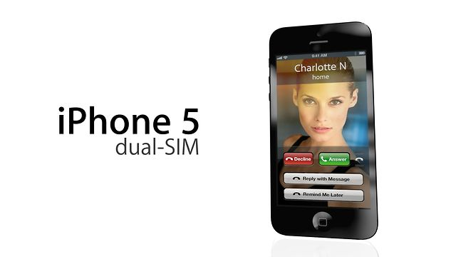 iPhone 5 dual-SIM on V...