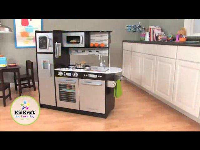 Wonder Toy Kidkraft Kuchnia dla dzieci Uptown Espresso Kitchen 53260 on Vimeo -> Kuchnia Dla Dzieci Kitchen Interaktywna Akcesoria
