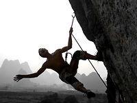 [China Climb, 8c, Yangshuo, China]