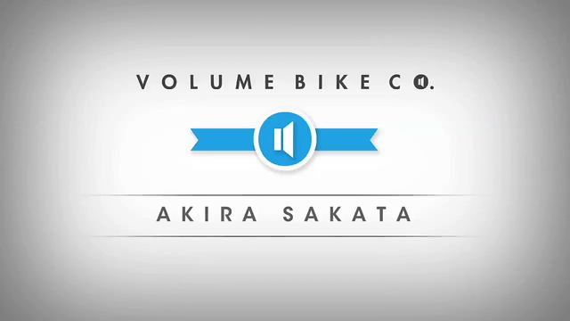 Volume Bikes New Japanese rider, Akira Sakata Edit