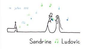 Sandrine & Ludovic // Le clip  (mariage filmé par 2 cinéastes)