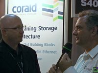 Coraid - VMWorld Barcelona 2012
