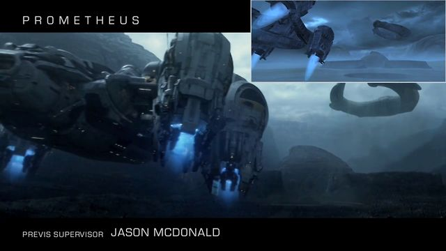 Previz for Prometheus