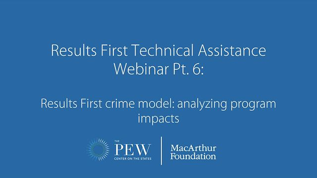 Results First Technical Assistance Webinar Pt  6