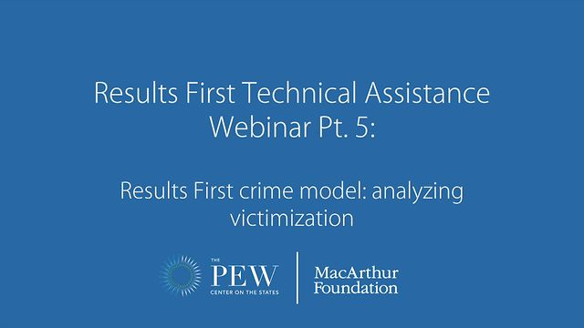 Results First Technical Assistance Webinar Pt  5