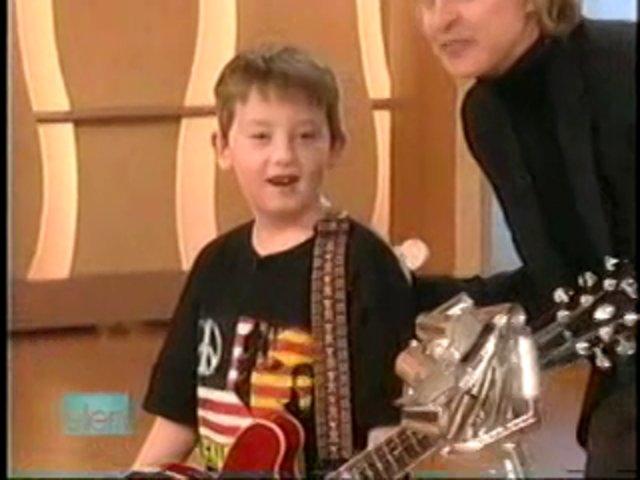 Ellen Degeneres With Young Guitarrist Quinn Sullivan On Vimeo