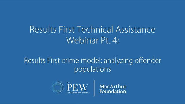 Results First Technical Assistance Webinar Pt  4