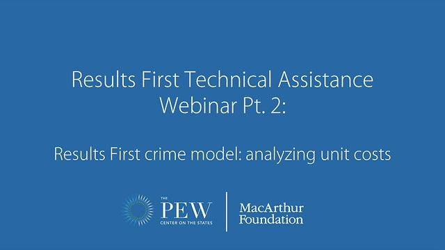 Results First Technical Assistance Webinar Pt  2