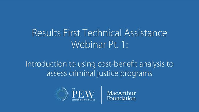 Results First Technical Assistance Webinar Pt  1