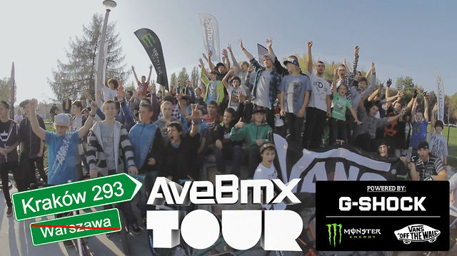 AVE BMX TOUR 2012 powered by G-SHOCK: Kraków trip