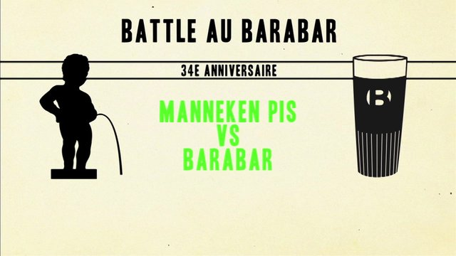 The Pipi Battle - 34e Anniversaire du Barabar