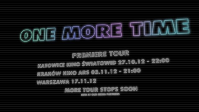One More Time - Official Teaser 2