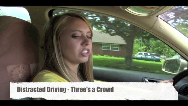 Distracted Driving- Three's a crowd.mov