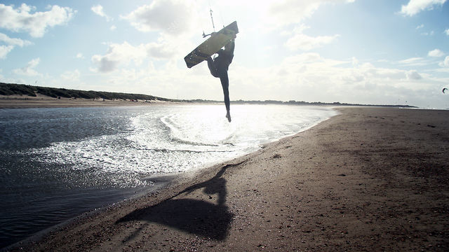 wind and kitesurfschool Veersedam the movie