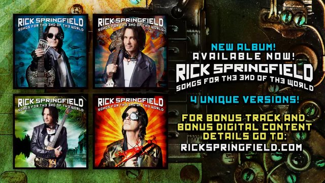 Songs for the End of the World - Song Preview - Rick Springfield