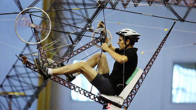 Human-Powered Helicopters: Straight Up Difficult