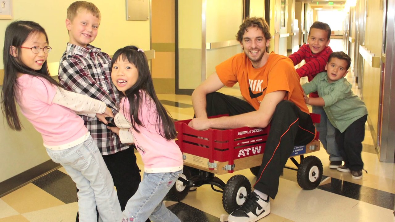 Children's Hospital LA Honors Pau Gasol