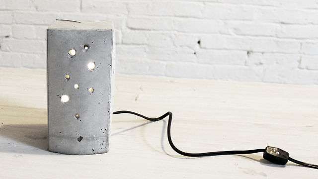 Homemade modern episode 6 diy concrete lamp on vimeo for Diy concrete lamp