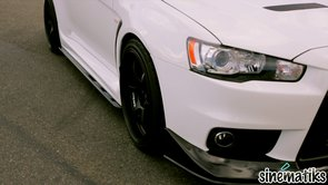 2010 Mitsubishi Evolution X Trailer