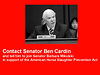 "Sen. Ben Cardin is ""undecided"" on the issue of horse slaughter"