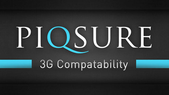Piqsure - 3G Compatability