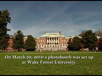 The PhotoBooth At Wake Forest
