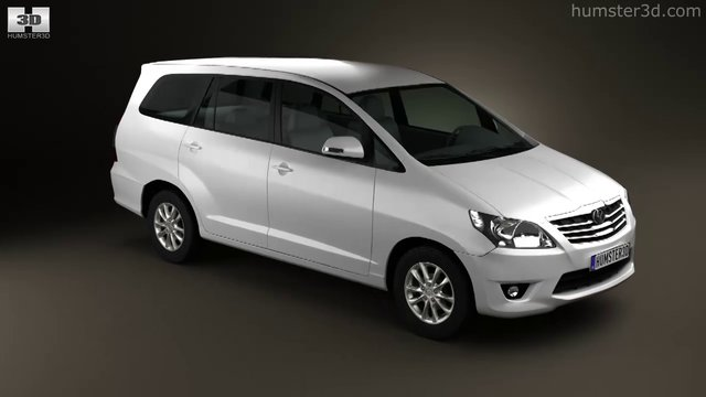 Toyota Innova 2011 by 3D model store Humster3D.com