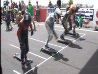 Newton's Playground IGSA World Chamionships 2009 Junior DH Skateboard Semi-finals