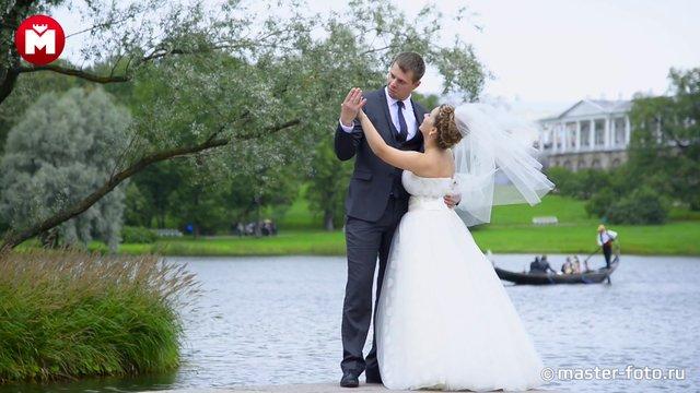 Видеосъемка свадебной прогулки на Елагином острове