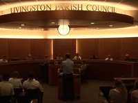 Livingston Parish Council Meeting 10-25-12