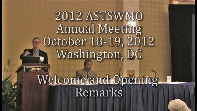 2012 Annual Meeting: Welcome