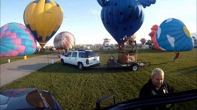 Albuquerque International Balloon Fiesta 2012 Timelapse