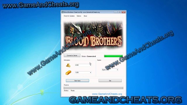 Blood Brothers RPH Hack iPhone/Android 2012