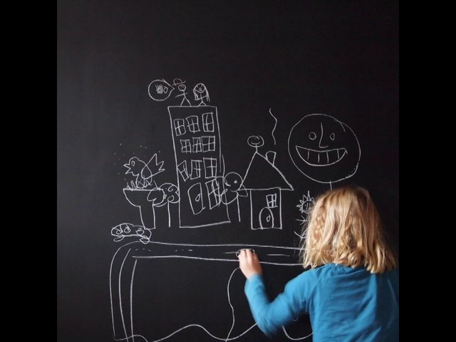 how to make chalkboard animation