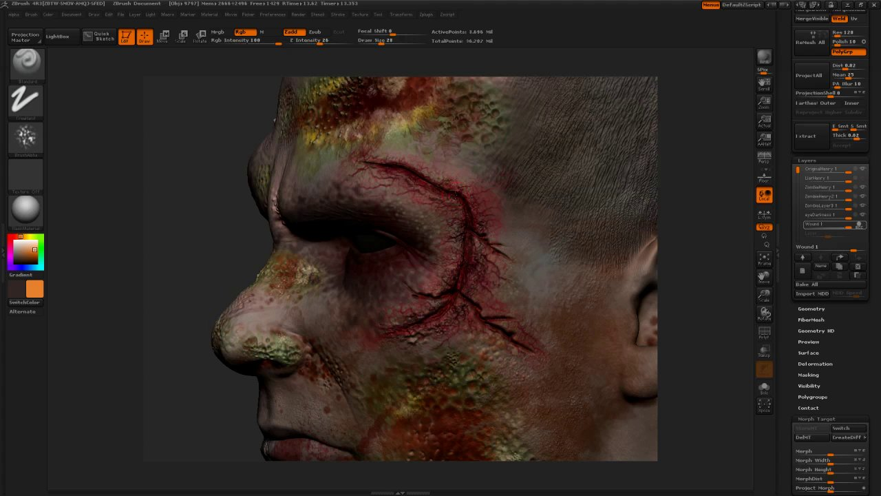 Software: zbrush
