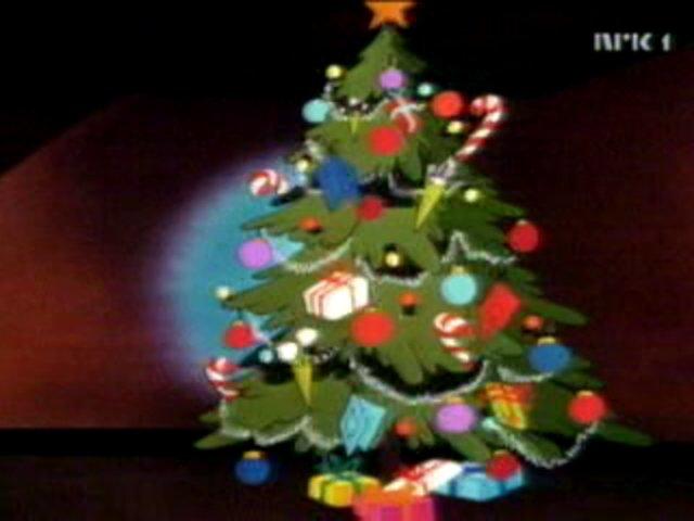 Mickey Mouse Pluto Christmas Tree