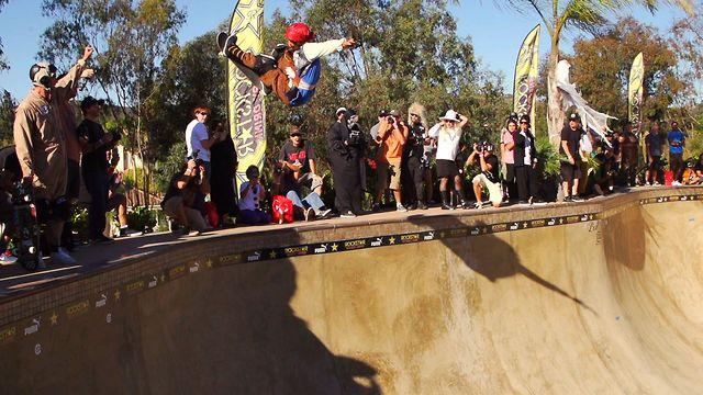 Bucky Lasek's Bowl-B-Q Halloween Skate Jam 2012