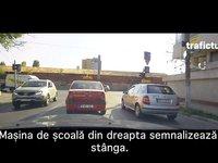 Școala de șoferi ne învață prost