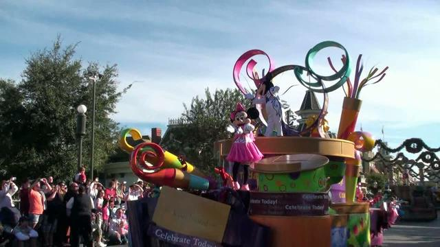 Dream Come true parade, Disney Magic Kingdom.