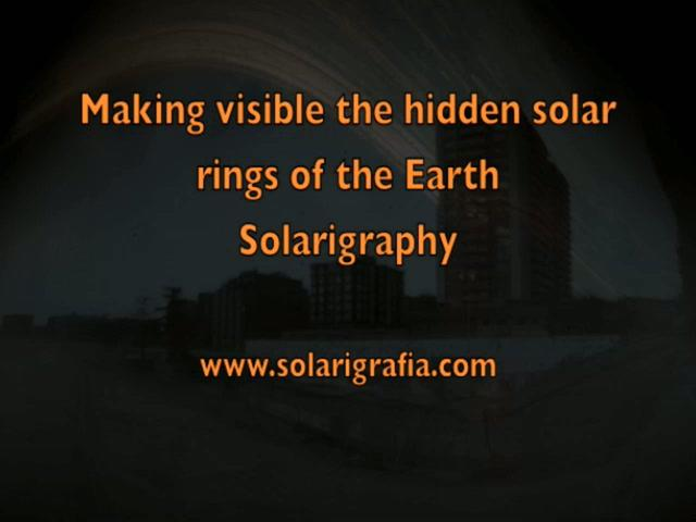 Hidden Solar Rings of the Earth. Solarigraphy